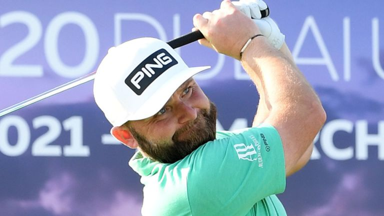 Andy Sullivan is chasing a second win of the season on the European Tour