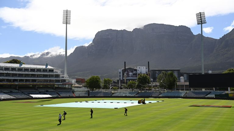 Cape Town was set to host two ODIs before the series was postponed on medical grounds