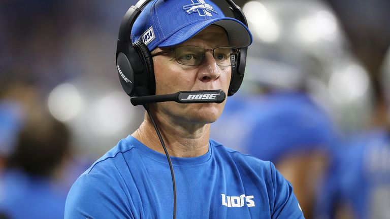 Darrell Bevell took over as interim head coach of the Lions after Matt Patricia was fired on November 28