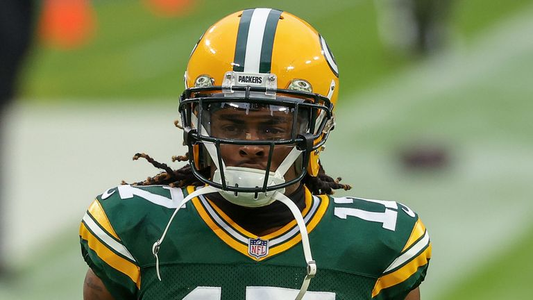 Davante Adams has 91 catches for 1,144 yards and 14 touchdowns in 11 games so far this season