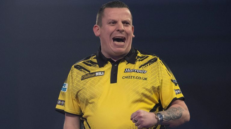 World No 7 Dave Chisnall missed out on selection despite making semi-finals at the World Championship and World Grand Prix
