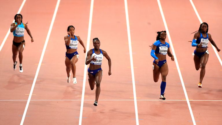 The sprinter is one of the world's best and has her sights on Olympic gold in Tokyo