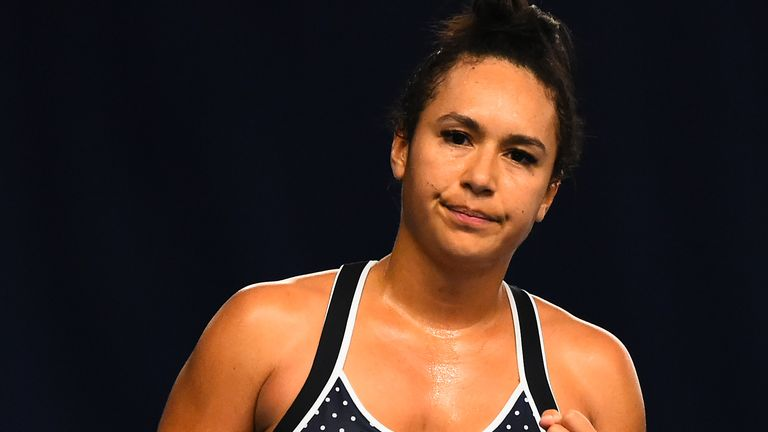 Heather Watson won the women's event at the Battle of the Brits Premier League of Tennis