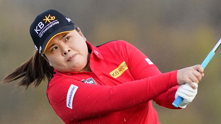 Inbee Park is in a share of the 54-hole lead