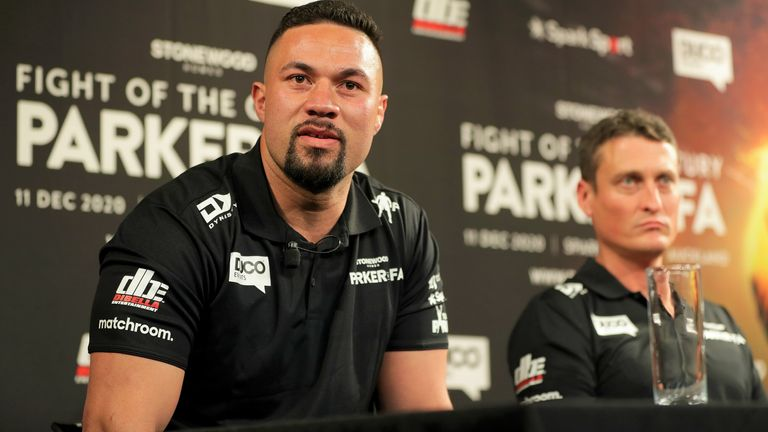 Joseph Parker is being guided towards another WBO title shot by David Higgins