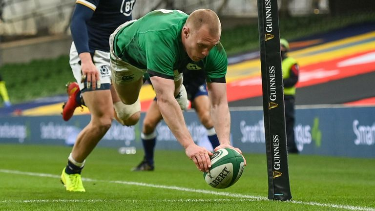 Keith Earls scored twice as Ireland wrapped up third place in the Autumn Nations Cup following a strong victory over Scotland in Dublin