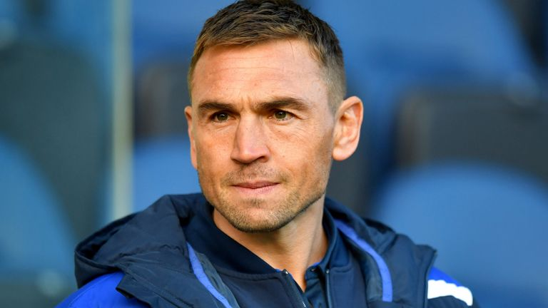 Kevin Sinfield previously served as director of rugby at the Leeds Rhinos