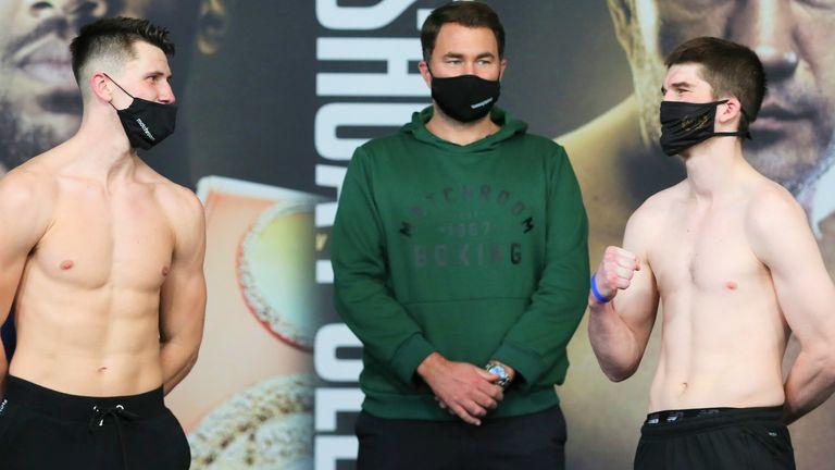 Kieron Conway faces British rival Macaulay McGowan