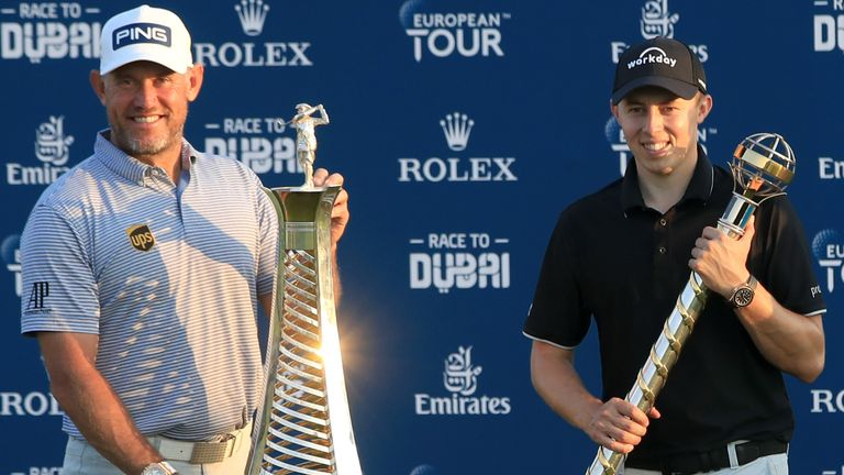 Westwood won his third Race to Dubai title, 20 years after winning his first