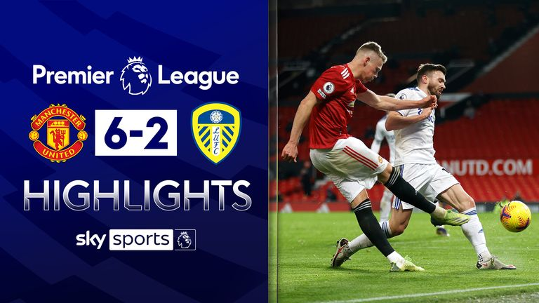 FREE TO WATCH: Highlights from Manchester United's win over Leeds United in the Premier League.