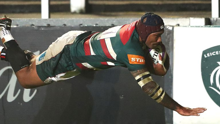 Nemani Nadolo was on the scoresheet as Leicester were one of the sides to win in Friday's Challenge Cup