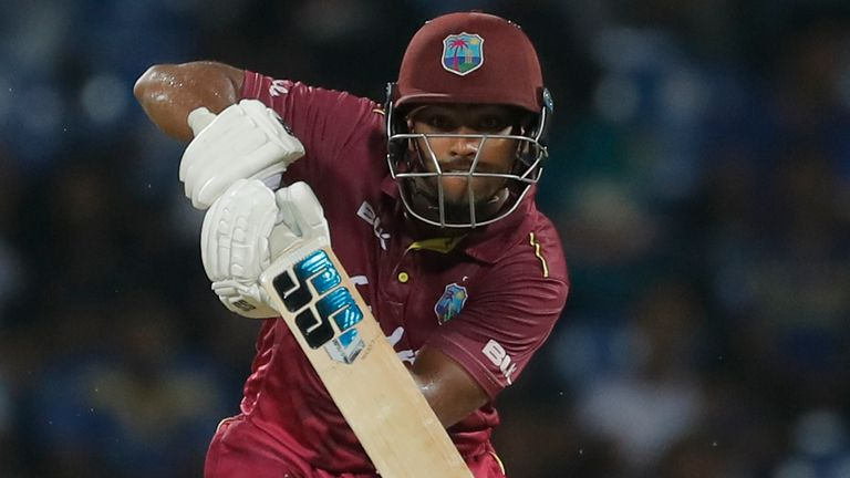 West Indies' Nicholas Pooran will join Rabada at Originals this summer