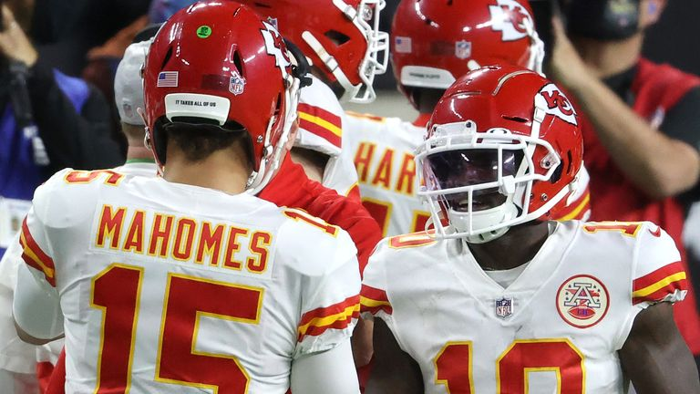 Patrick Mahomes and Tyreek Hill have both been selected as Pro Bowl starters