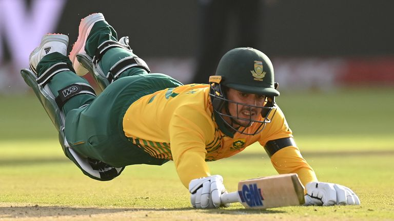 Quinton de Kock's South Africa side saw their ODI series at home to England postponed after a spate of coronavirus cases