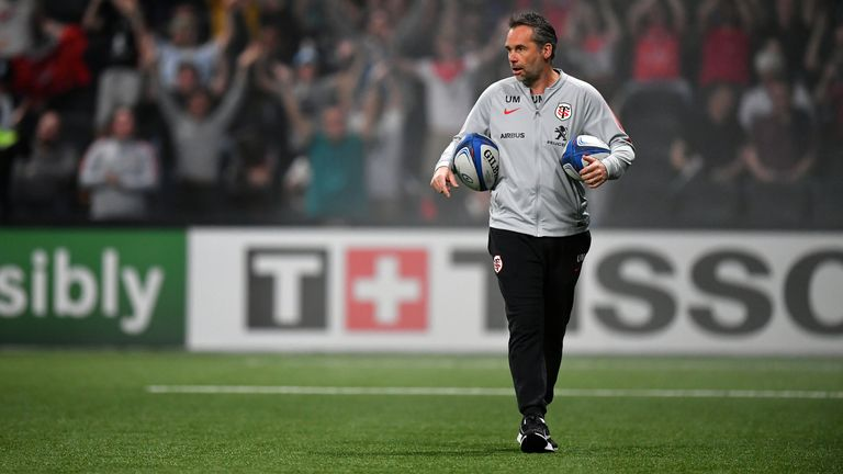 Toulouse coach Ugo Mola was the man who broke the news to Cheslin Kolbe that he had been called up by the Springboks