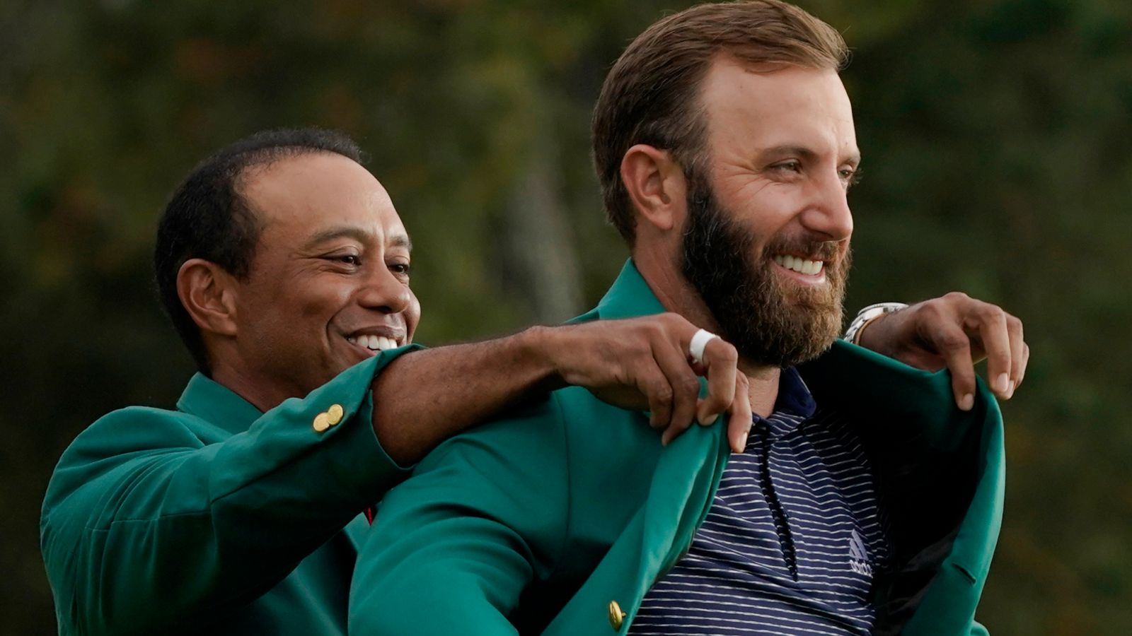 Dustin Johnson pays tribute to Tiger Woods after car crash and draws comparison with Ben Hogan