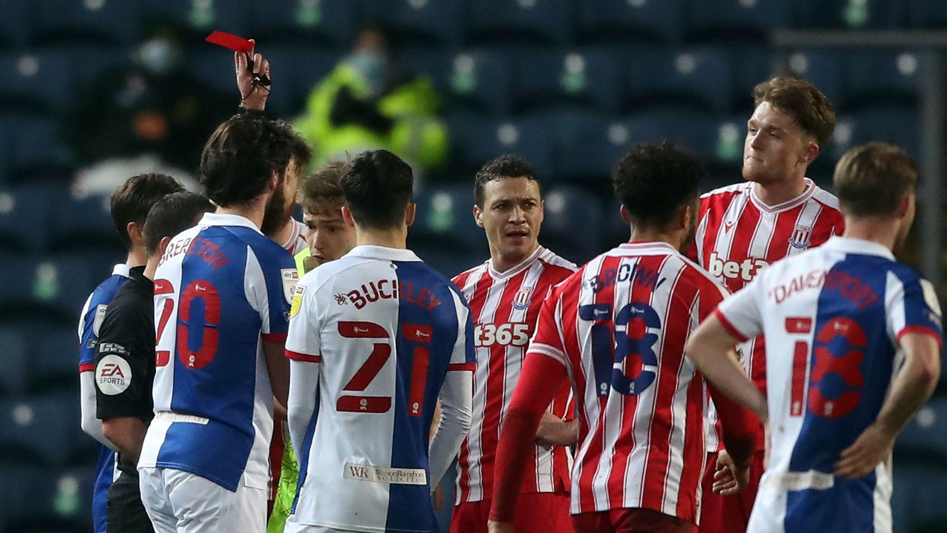 Blackburn strike back to hold Stoke