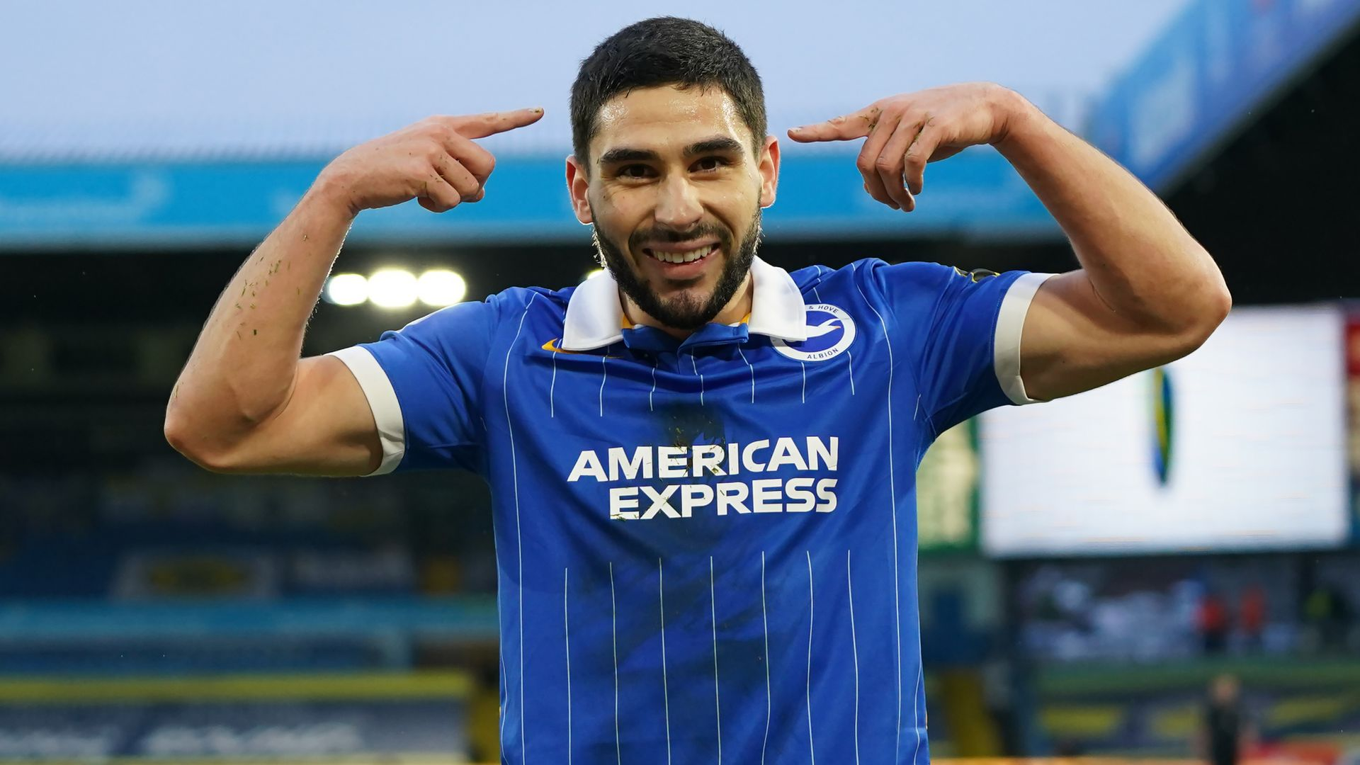 Maupay haunts Leeds again in Brighton win