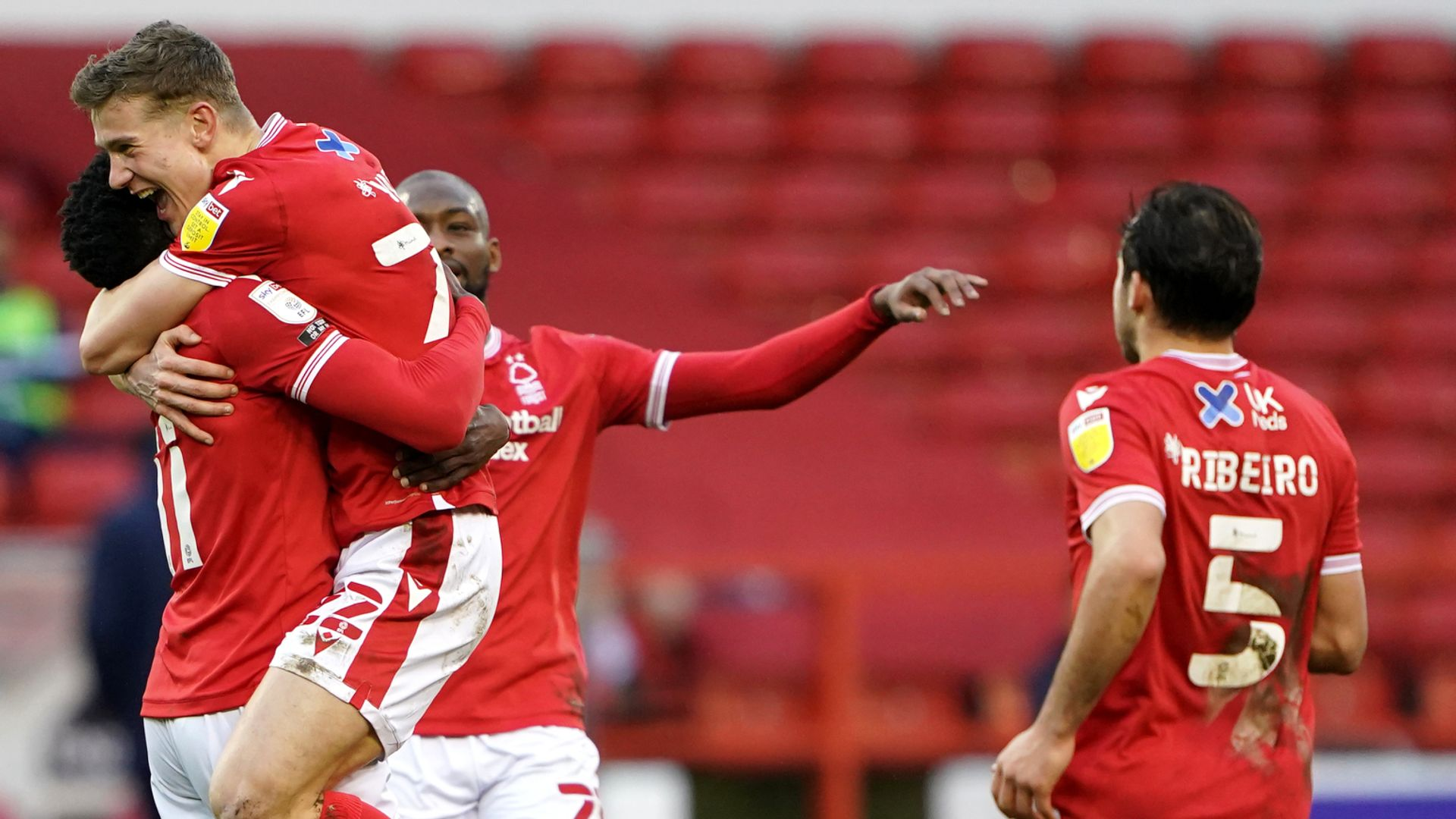 Ameobi double steers Forest to victory