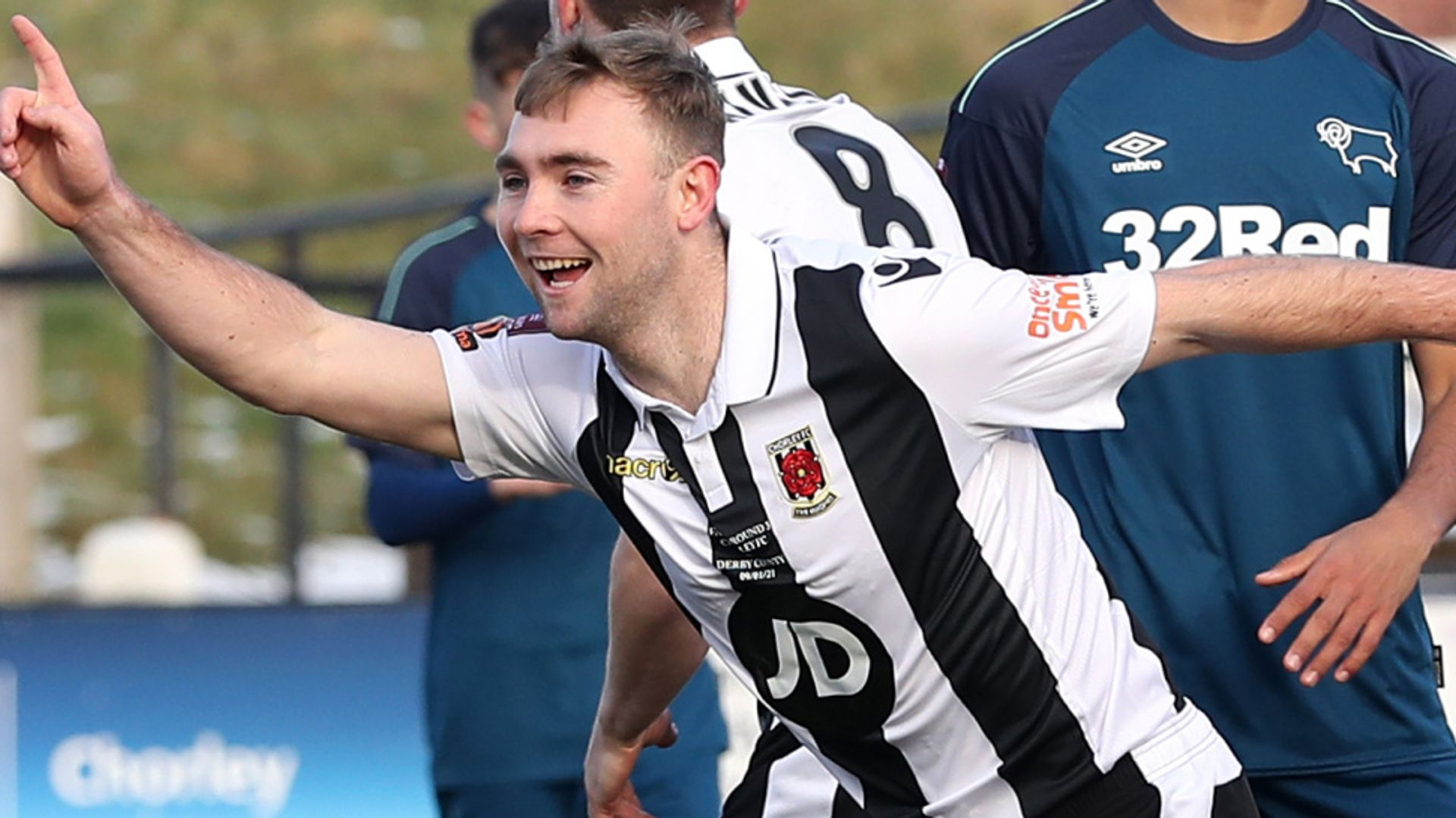 FA Cup R3: Chorley beat Derby kids, Baggies out on pens