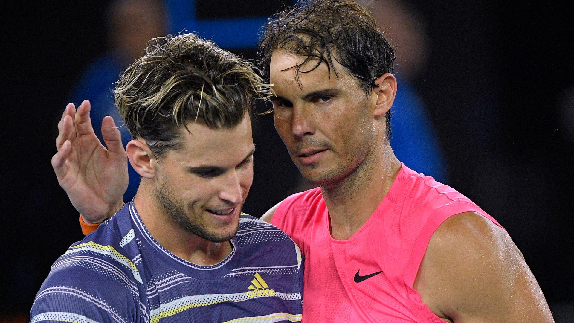 Nadal, Thiem suffer coaching setbacks ahead of Aussie Open