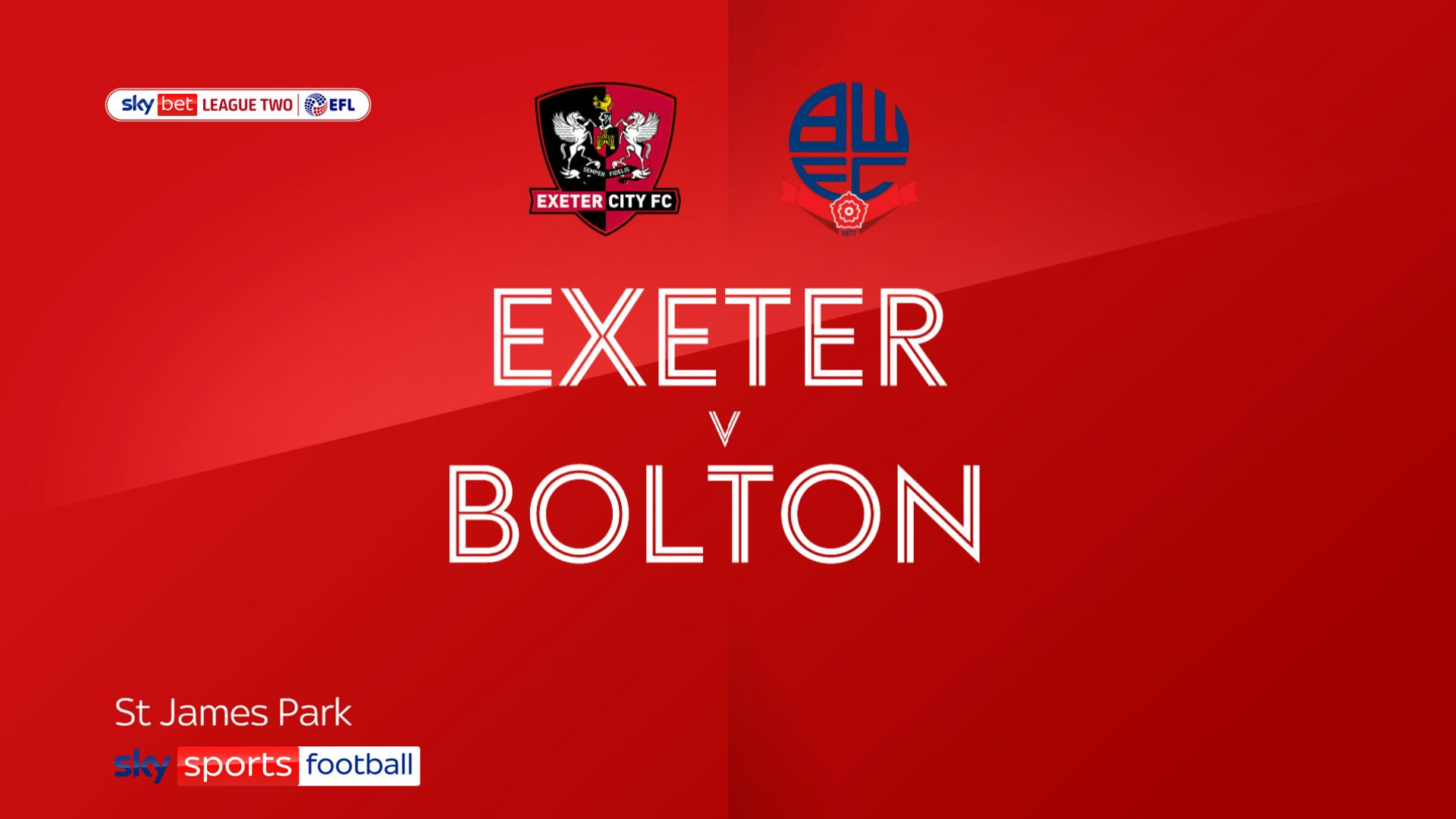 Bolton battle for point at Exeter