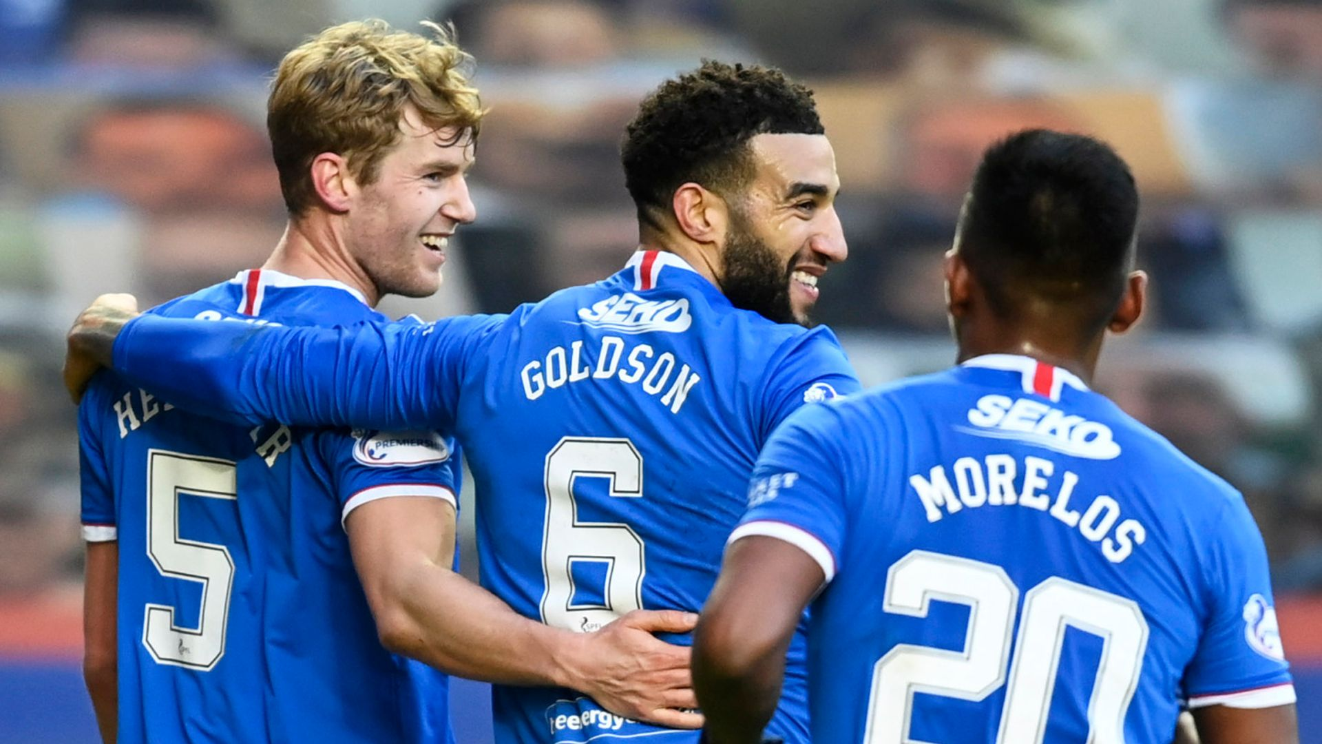 Rangers thrash Ross County to go 23 points clear - sky sports