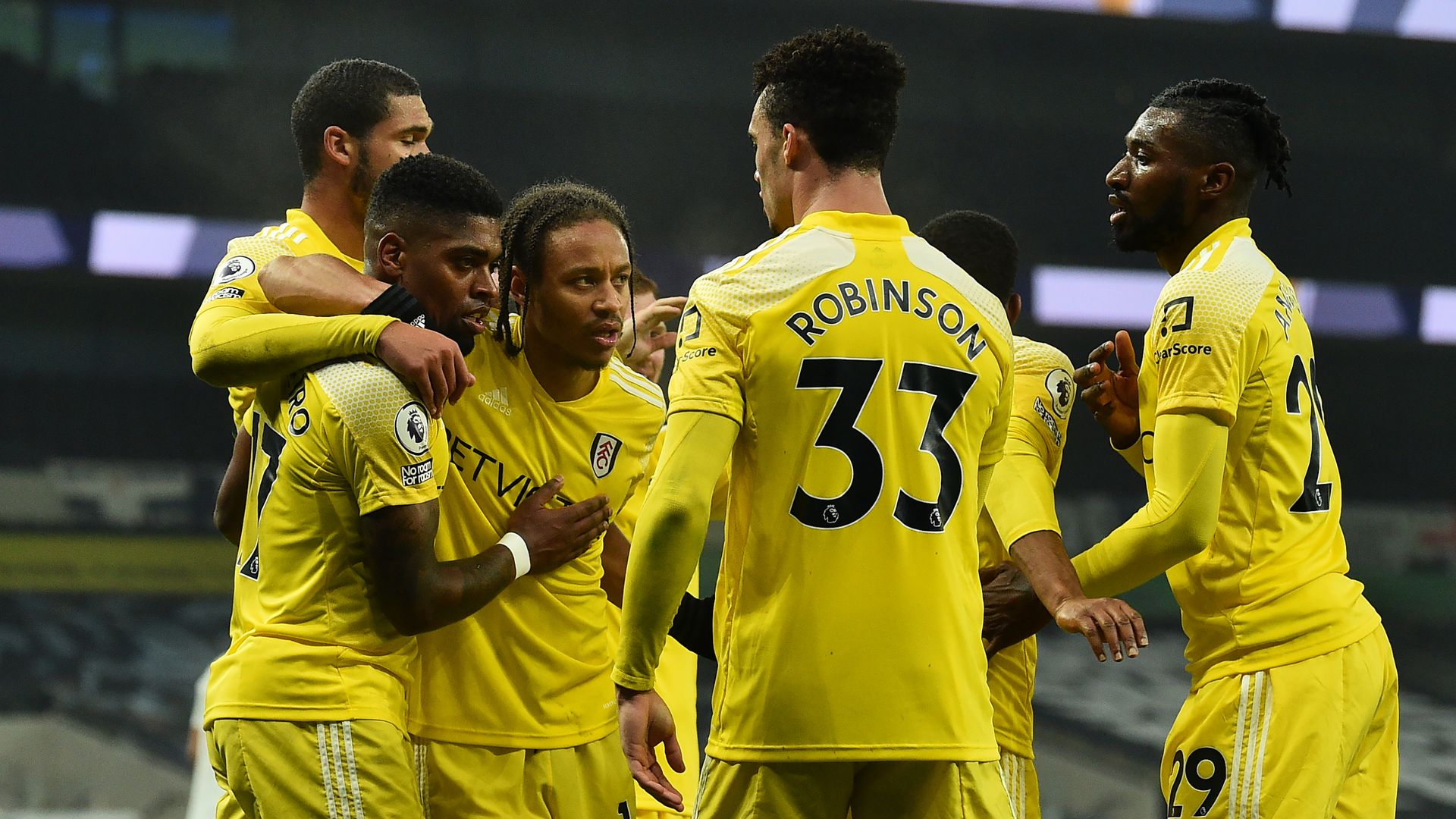 Spurs miss chance to go third as Fulham take point
