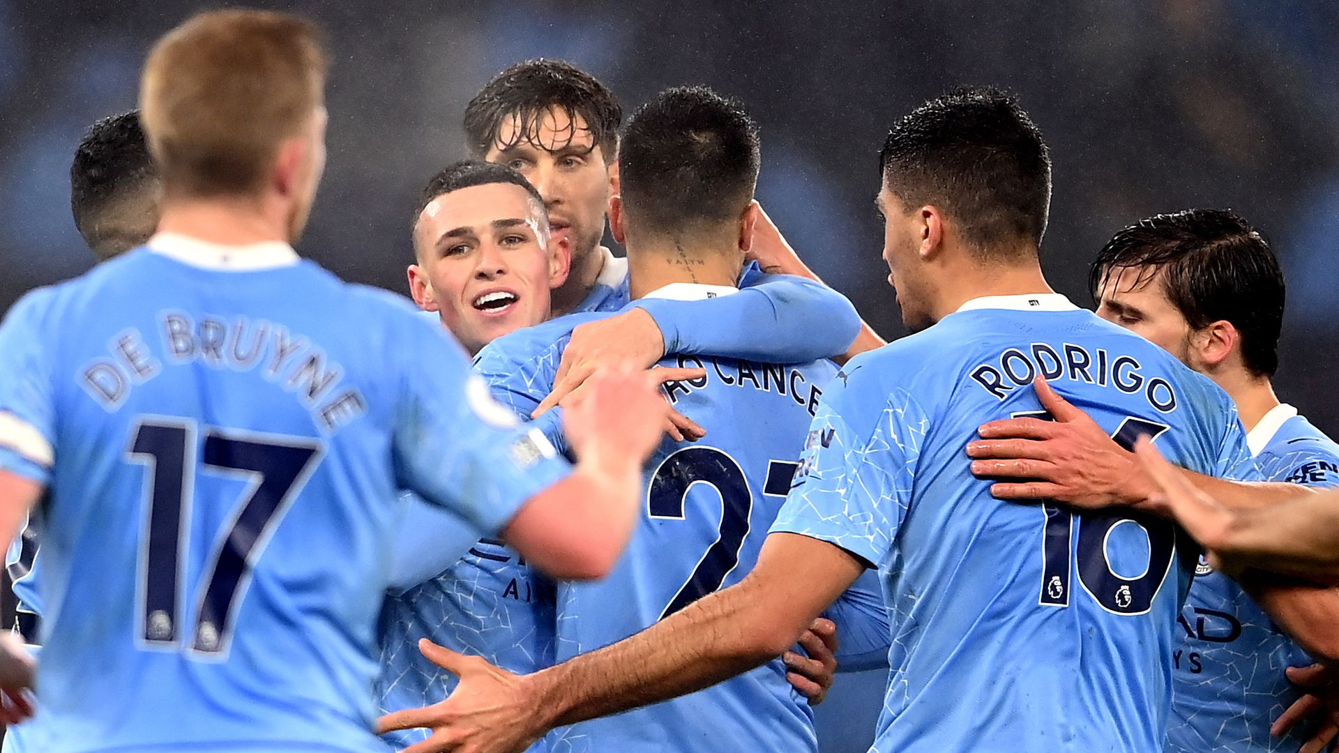 Foden sends City third against valiant Brighton