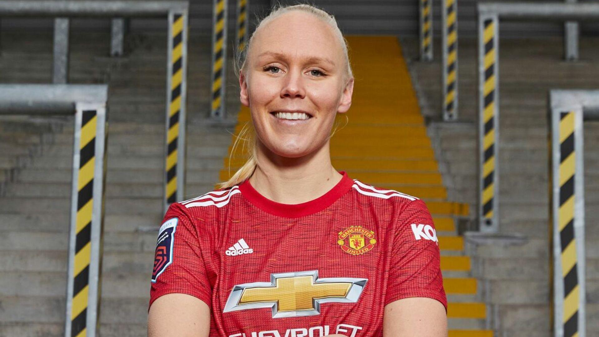 Thorisdottir signs for Man Utd Women from Chelsea - sky sports