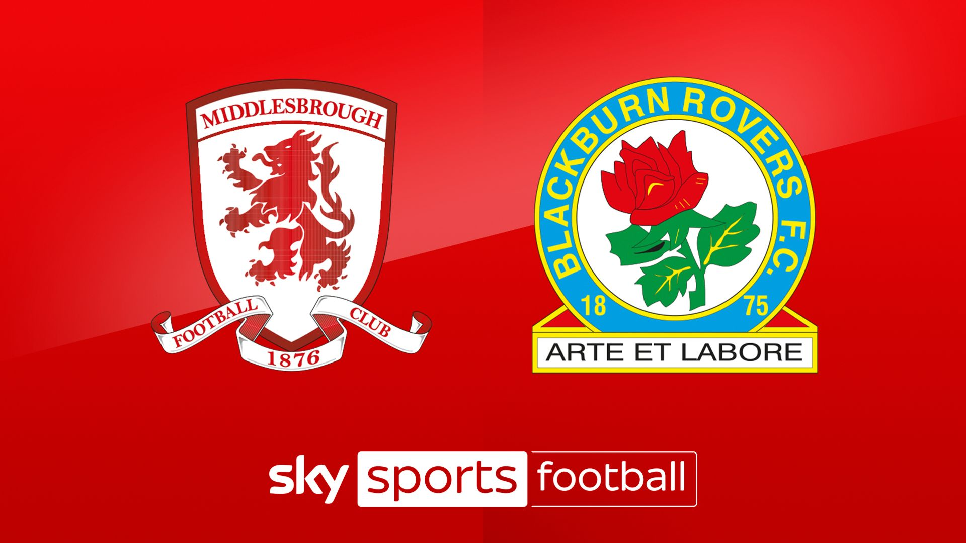 Live on Sky: Middlesbrough vs Blackburn
