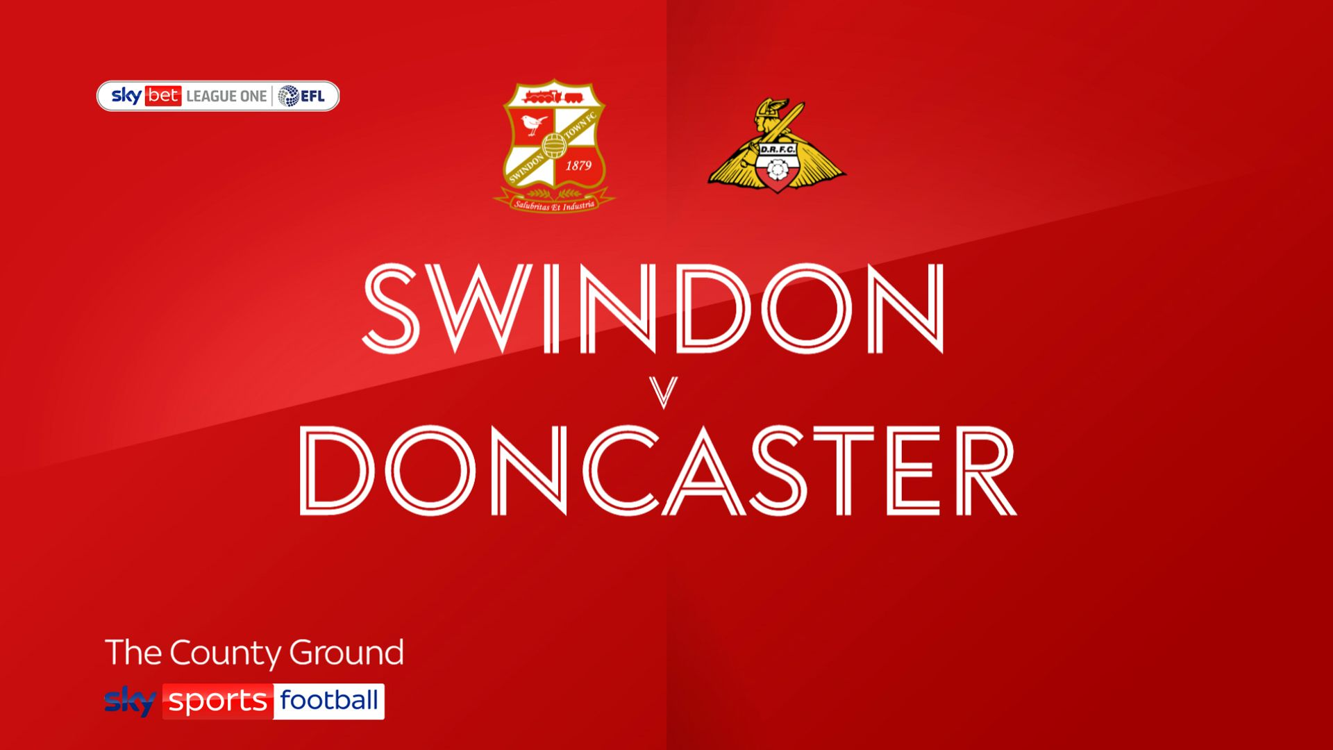 Doncaster sink lowly Swindon