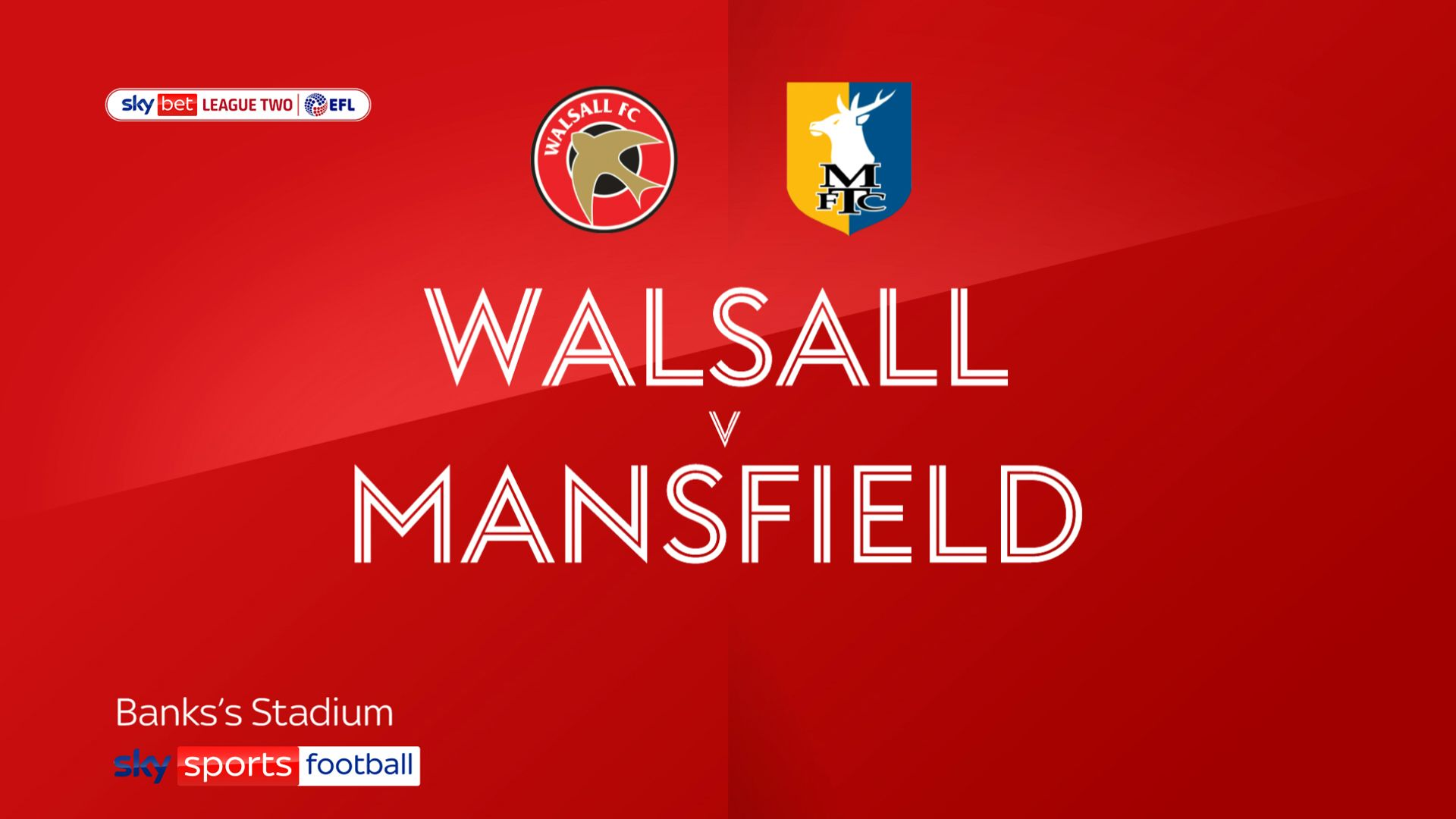 Mansfield hold Walsall