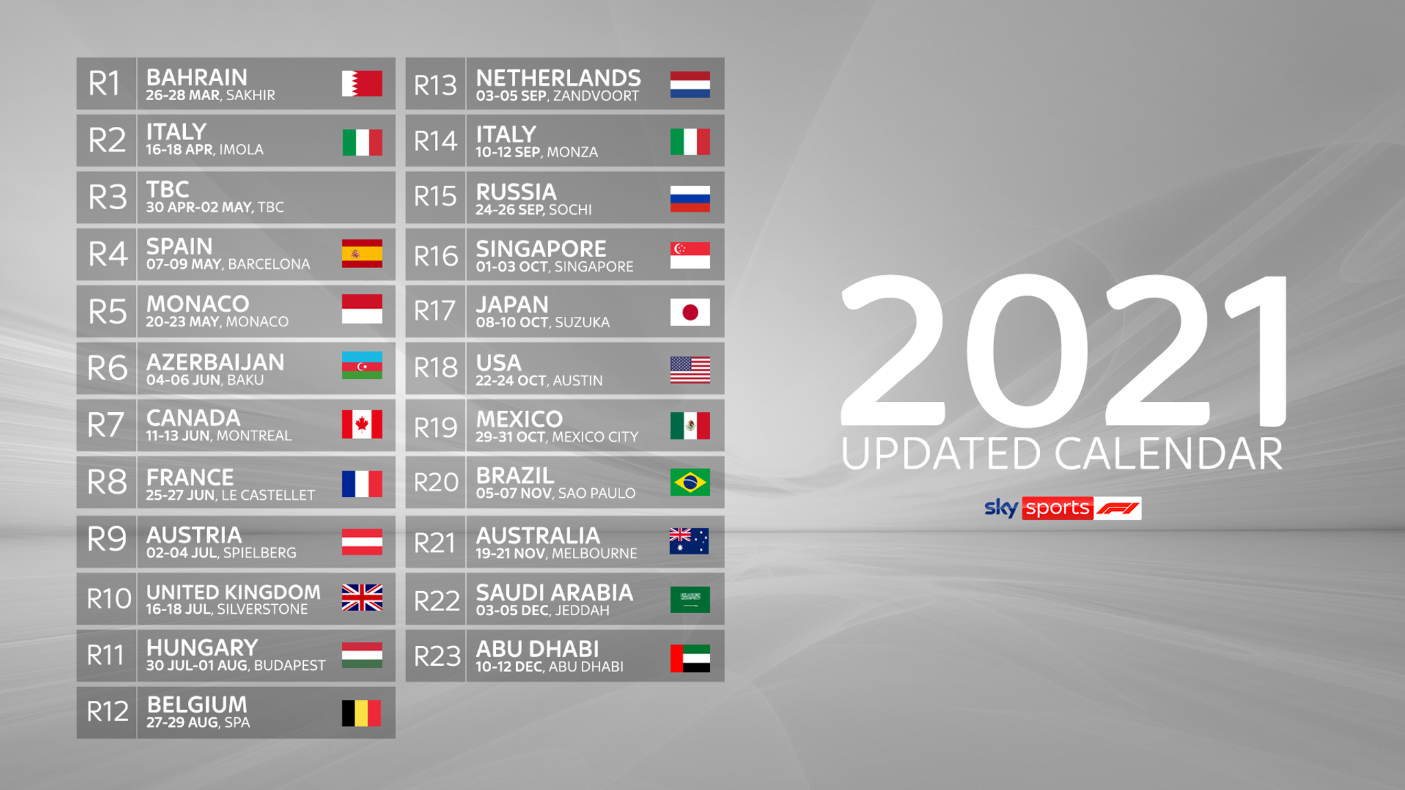 F1 2022 Calendar Download.F1 2021 Calendar Testing And Launches Everything You Need To Know About The New Formula 1 Year F1 News