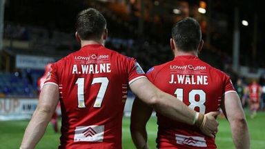 Adam and Jordan Walne during their time playing together at Salford