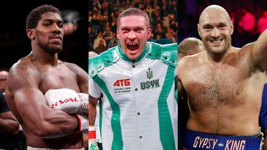 Oleksandr Usyk was an obstacle to agreeing Joshua vs Fury