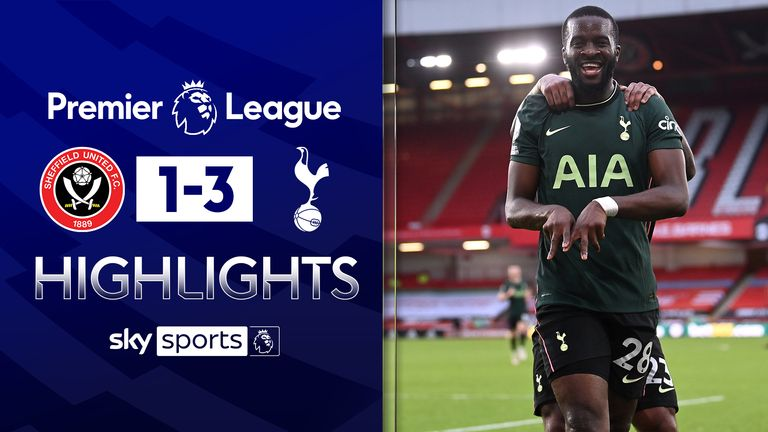 FREE TO WATCH: Highlights from Tottenham's win against Sheffield United