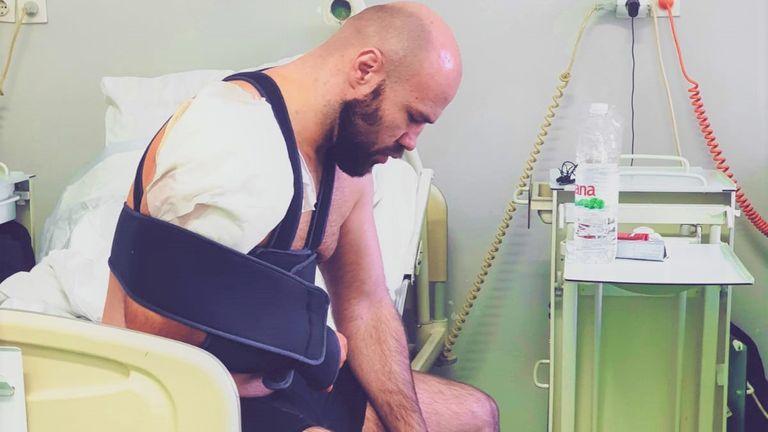 The Croatian contender has undergone successful surgery