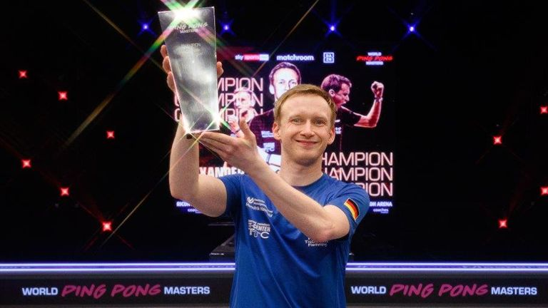 Alexander 'The Flash' Flemming claimed the World Ping Pong Masters title