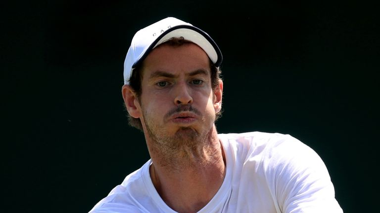 Andy Murray has tested positive for coronavirus and is isolating at home