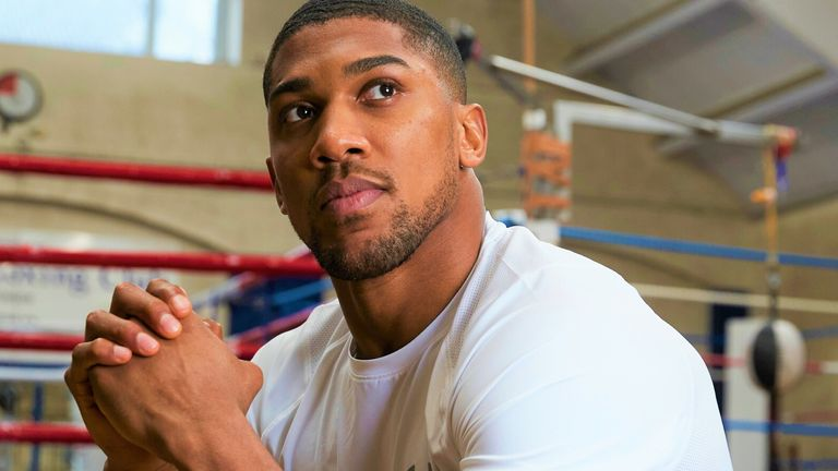 Anthony Joshua plans to fight Tyson Fury for all the world heavyweight titles