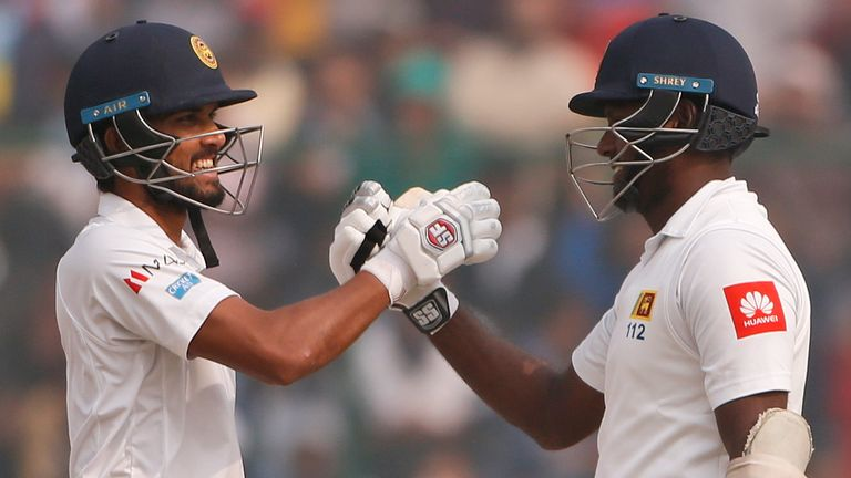 Sri Lanka hope to have Dinesh Chandimal and Angelo Mathews back for the Test series against England