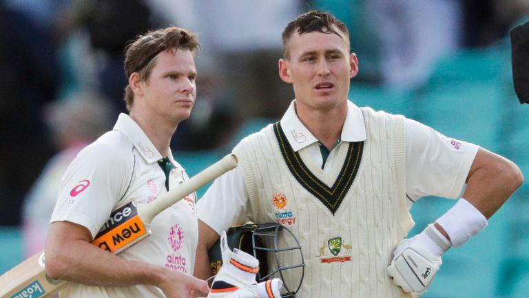 Steve Smith and Marnus Labuschagne took Australia through to stumps