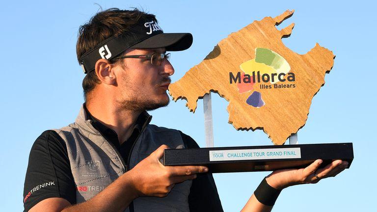 Ondrej Lieser won the shortened Challenge Tour season in 2020