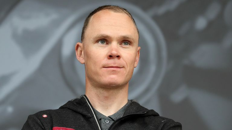 Froome remains on the road to recovery from injury