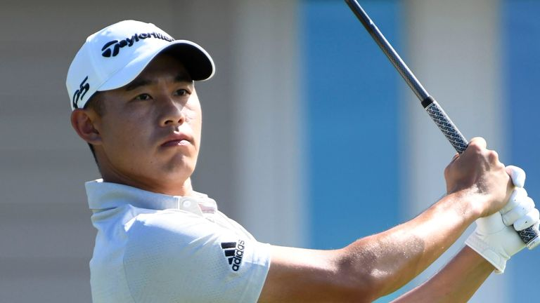 Morikawa made two mistake on par fives that saw his lead cut to two