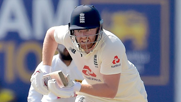 Jonny Bairstow struck an unbeaten 35 to steer England to victory in the first Test against Sri Lanka
