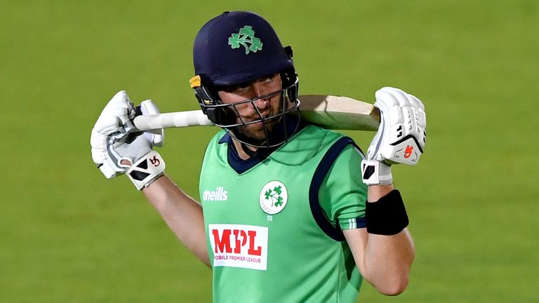Ireland captain Andy Balbirnie and his team must wait to resume their ODI series against the United Arab Emirates, whose squad remain in quarantine after cases of Covid-19