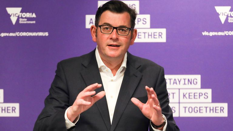 Victorian Premier Daniel Andrews says the biosecurity protocols would not be changed