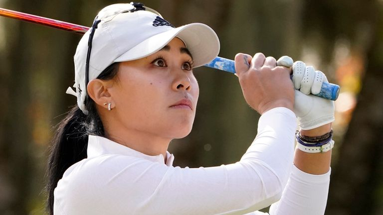 Danielle Kang holds a two-shot lead at the Diamond Resorts Tournament of Champions